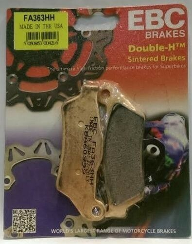 BMW R1100S (12/2000 to 2006) EBC Double-H Sintered REAR Brake Pads (FA363HH)