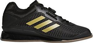 Details zu adidas Leistung 16 ll Weightlifting Shoes Black Bodybuilding Boots Gym Training