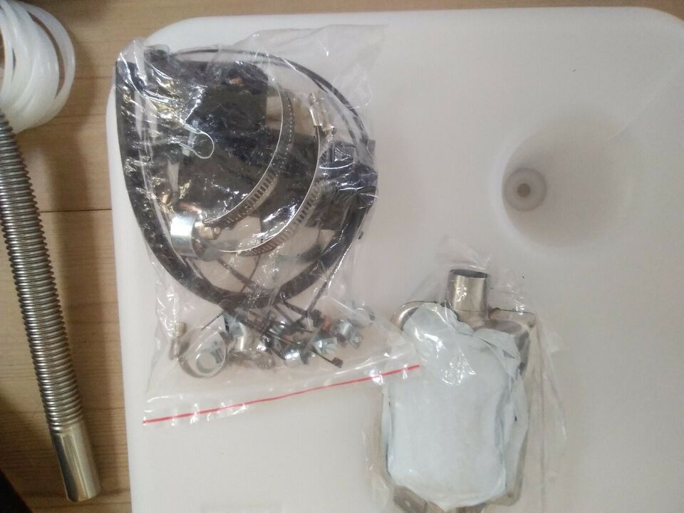 5 Kw oliefyr, nyt med LCD display, fjernbetjeni...