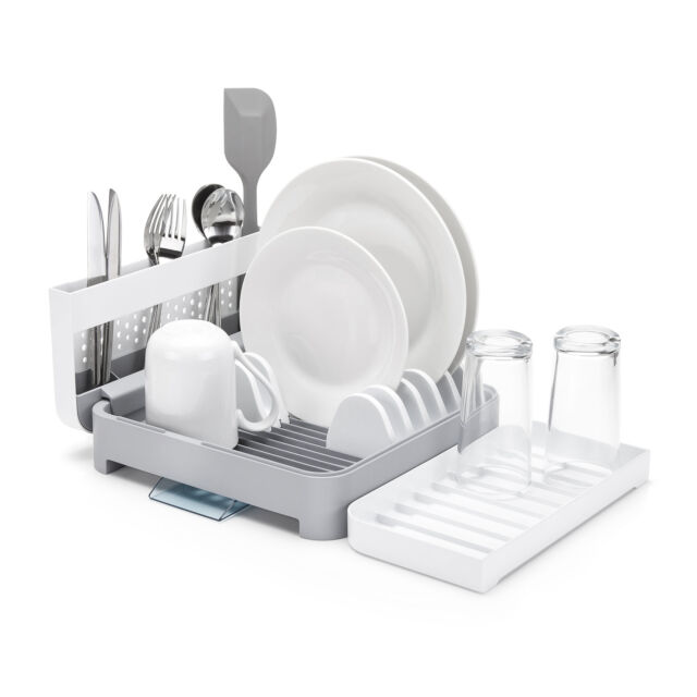 e4a643ee2342 Minky Foldaway Washing up Dish Rack Drainer White for sale online | eBay