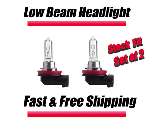 Stock Fit Halogen Headlight Bulbs for Hyundai Veracruz 2007-2012 Low Beam Set 2
