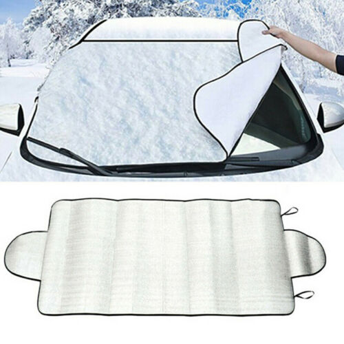 Car Windshield Snow Cover Winter Ice Frost Guard Sunshade Protec4H