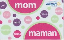 Walmart mom maman Gift Card Mother's Day Limited Ed COLLECTIBLE New No Value
