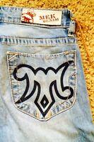 Mek By Rock Revival leland Women's Boot Cut Jeans Size: 29x34, $88 Buckle