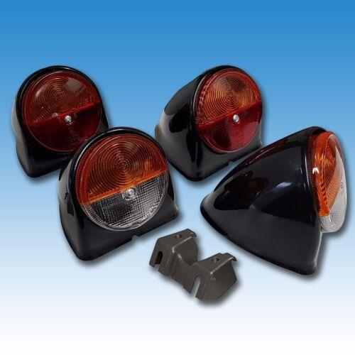 Conjunto de luces 05 Deutz serie faro trasero blinkleuche capuchón lámparas soporte 3005 4005