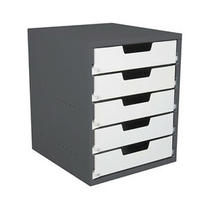 Van-Shelving-5-standard-drawer-cabinet-great-for-small-parts-and-tools