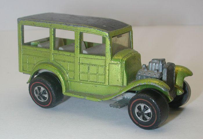 Redline Hotwheels Antifreeze 1969 Ford Woody oc8711