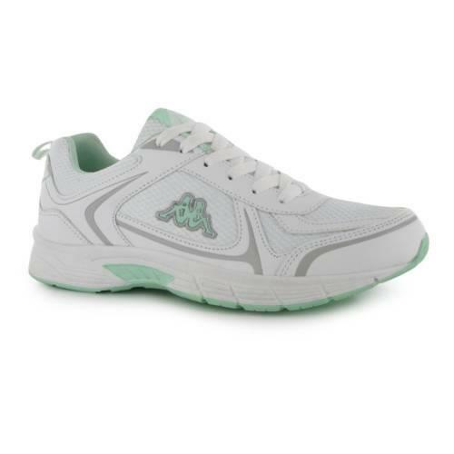 Casual Running Trainer Womens Alysia Lace Shoes mint Kappa Up Run White Sneaker Walking 61q8Bvw