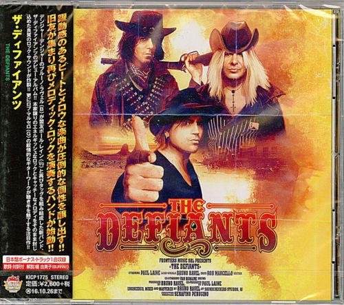 THE DEFIANTS-THE DEFIANTS-JAPAN BONUS TRACK F83