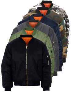 Bomber-MA-1-Militare-Originale-Fostex-Garments-Flight-Jacket-colori-vari