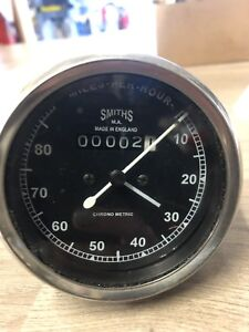 Smiths-Mechanical-Speedo-And-Odometer-Mph-Chrono