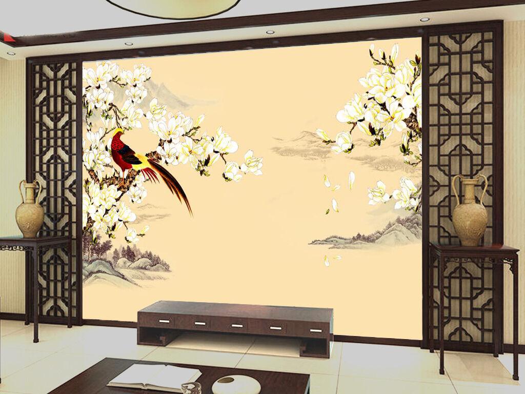 3D White Flowers Plant Art 0382 Wall Paper Wall Print Decal Wall AJ WALLPAPER CA