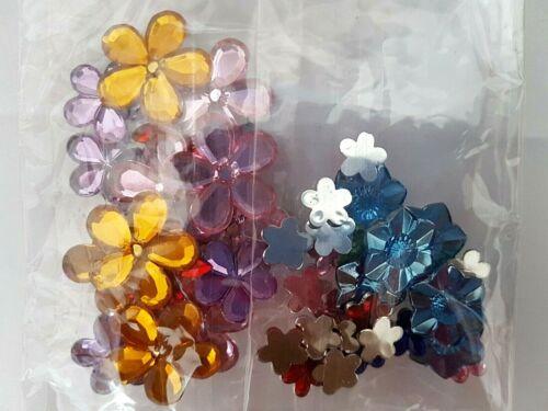 Wilko Sparkly Gem Fleur Artisanat Fleur Formes Pour Carte Craft Embellissement etc