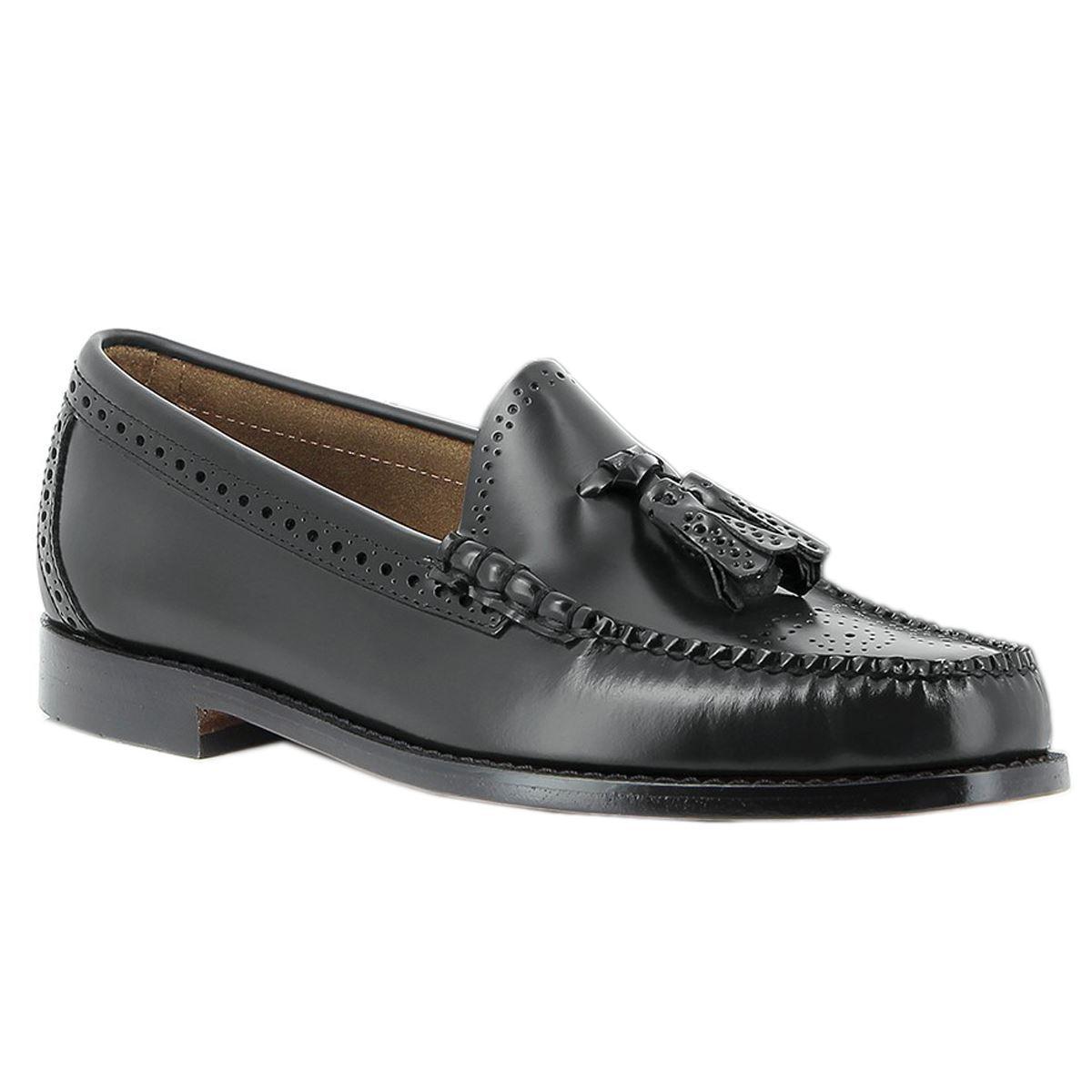 g.h. bass & co. larkin richelieu officiel hommes de chaussures en cuir hommes officiel noirs 952996