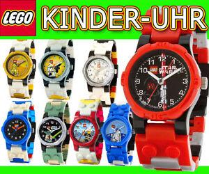 Ehrgeizig Lego Kinderuhr Star Wars Yoda Fussball Feuerwehr Polizei City Ninjago Armbanduhr In Vielen Stilen