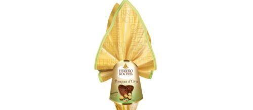 cioccolato alla latte Uovo FERRERO ROCHER PASQUA D/'ORO con SORPRESA da GR 225