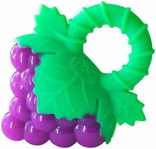 Details about  RAZ BABY GRAPES SILICONE TEETHER FOR TEETHING 4+ MONTHS BPA FREE