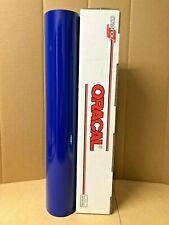Oracal 651 1 Roll 24 X 10yd 30ft Cobalt Blue 065 Gloss Sign Vinyl