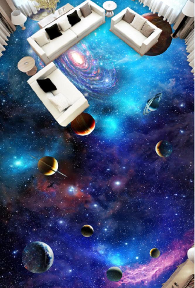 3D Beautiful Planet 4 Floor WallPaper Murals Wall Print Decal AJ WALLPAPER US