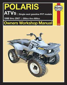Haynes Service Manual Polaris Trail Blazer 400 2003 Trail Boss 330 2003 2007 Ebay