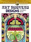 Creative Haven Art Nouveau Designs Collection Coloring Book by Dover, Marty Noble (Paperback, 2015)