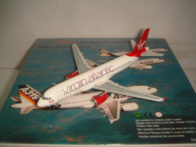 Aeroclassics 400 Virgin Atlantic A320-200  2010s Coloree-Tartán Lassie  1 400
