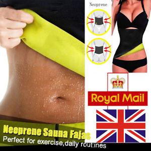 bdf642770955d Sport Sweat Band Girdle Body Shaper Hot Neoprene Thermo Belt Women ...