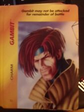 Marvel Overpower Original Gambit Charm - NrMint-Mint Condition