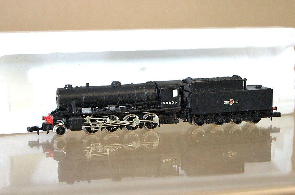 Fleischmann Set Gebaut Langley Br 2-8-0 Klasse WD Loco 90608 Ungebraucht MX