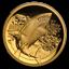 SKU#187232 2015 Australia 1 oz Gold Great White Shark PF-70 NGC