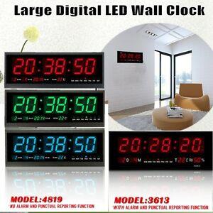 Large-Big-Jumbo-LED-Home-Office-Wall-Desk-Clock-With-Calendar-Temperature-3Color