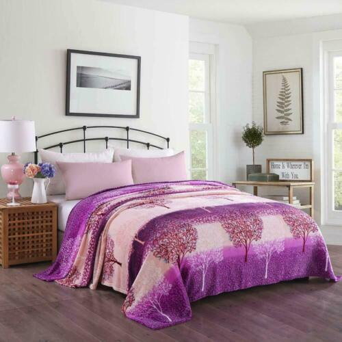 New Selection Soft Flannel Blanket King Size at Linen Plus Multi Designs