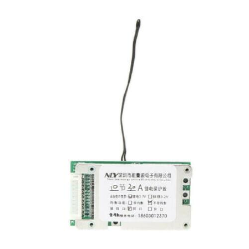 New 10S 36V 30A Battery Protection Board Cell Battery Protection BMS PCB Board