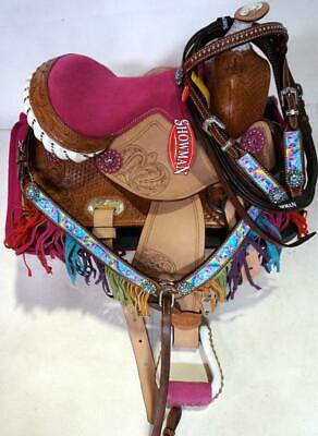 Showman Western SADDLE CARRIER Nylon Case with Full Zipper /& Shoulder Strap