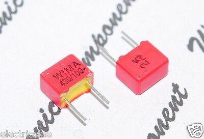 1800PF 1.8nF 1,8nF WIMA FKP2 1800P 100V 2.5/% pitch:5mm Capacitor 10pcs