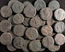 Nice Quality Lot of 10 Smaller Uncleaned Roman Bronze Coins AE4 & AE3 (13-18mm)