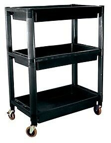 ATD Tools Heavy-Duty Plastic 3-Shelf Utility Cart part ATD 7017 FAST  SHIPPING!!