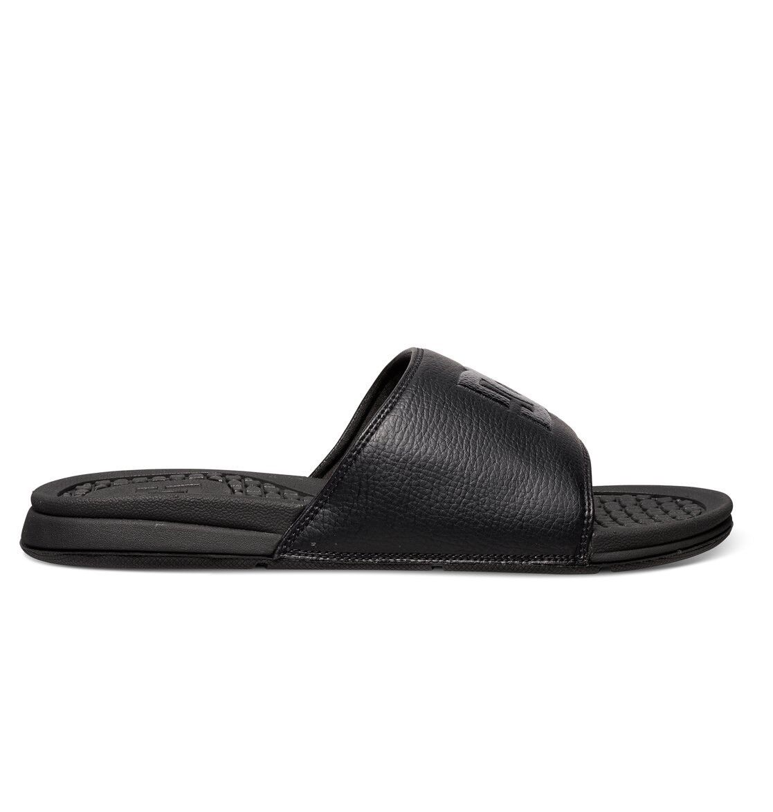 DC shoes Bolsa Slider Sandals BLACK BLACK