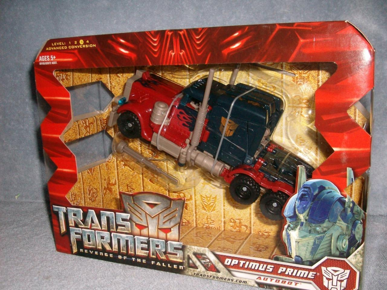 Optimus prime transformers revenge of the fallen  klasse hasbro 2008 neue