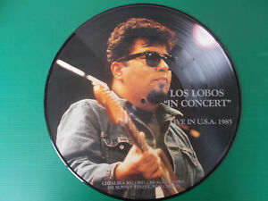 LP-LOS-LOBOS-034-IN-CONCERT-034-LIVE-IN-USA-1985-PICTURE-DISC-LIMITED-EDITION-NEW