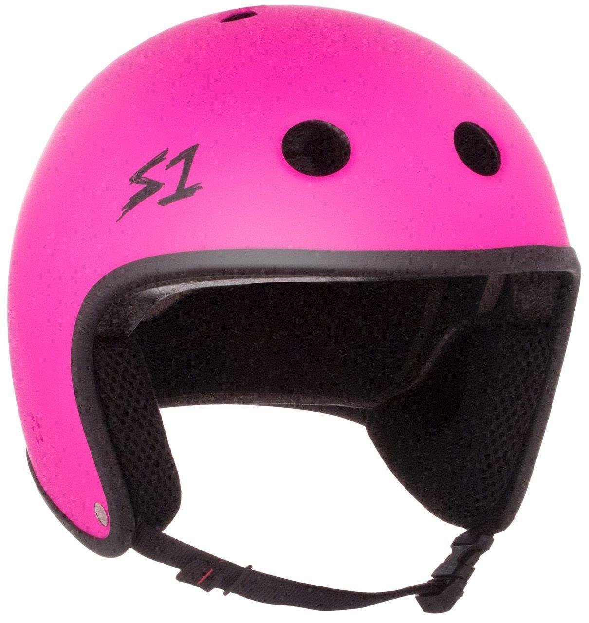 S1 Retro Lifer  Helmet - Neon Pink Matte  great offers