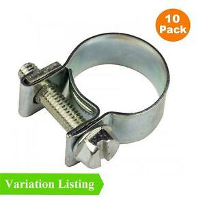Jubilee Clips//Pinces mécanique 10 Pack Pour Divers Tuyaux D/'Eau Fuel /& GAS Huile