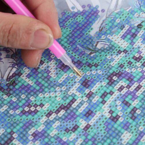 Full Drill 5D Diamond Painting Cross Stitch Special Shape Rhinestones Landscape