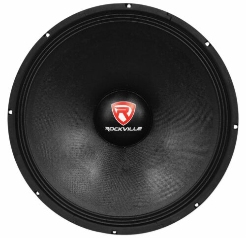"Rockville RVP18W8 1200 Watt 18/"" Raw Replacement DJ PA Subwoofer 8 Ohm Sub Woofer"