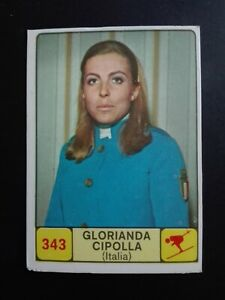 ITALIA-SCI-Rec CIPOLLA CAMPIONI d SPORT 1968//69-PANINI-Figurina n.343