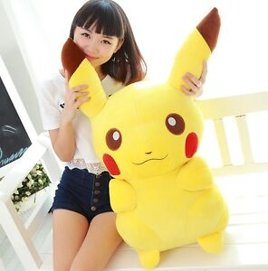 New-26-034-65CM-Cute-Giant-Big-Size-Pikachu-Soft-Plush-Toy-Kids-Baby-Gift-Doll