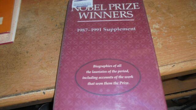 Nobel Prize Winners, 1987-1991 (1992, Hardcover, Revised)
