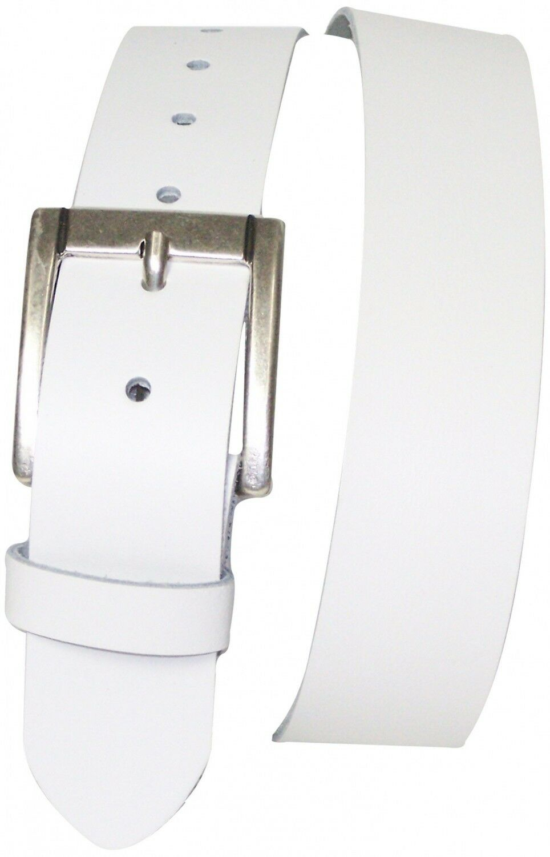 Fronhofer MEGLIO cintura cintura cintura 4 cm argentatoargento Fibbia Cintura,vestito pelle a71017