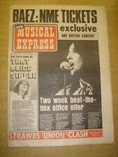 NME 1973 FEB 10 JOAN BAEZ JEFF BECK RICK WAKEMAN SWEET TEMPTATIONS PROCOL HARUM