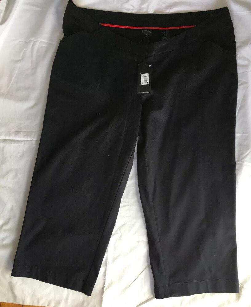 Next Maternity Bleu Marine Pantalon Taille 18 L Bnwts